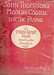 John Thompsons Modern course for the Piano -
