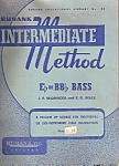 Rubank Intermediate method - copyright MCMXXXIX