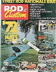 Click here to enlarge image and see more about item J3252: Rod & Custom magazine - October 1972
