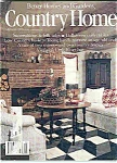 Country Home - October 1986
