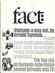 Click here to enlarge image and see more about item J3573: Fact Magazine - Jan/ Feb. 1967