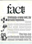 Click here to enlarge image and see more about item J3574: Fact Magazine - Jan/Feb. 1967
