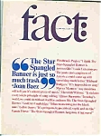 Fact Magazine - Jan/ Feb. 1965