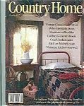 Click here to enlarge image and see more about item J3612: Country Home - October 1987
