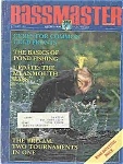 Click here to enlarge image and see more about item J3699: Bassmaster magazine - January 1988