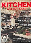 Kitchen and Bath Ideas  - Summer 1985