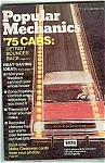 Click here to enlarge image and see more about item J3753: Popular Mechanics - October 1974