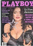 Click here to enlarge image and see more about item J3996: LaTOYA JACKSON ~ Playboy Magazine
