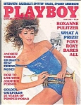 Playboy Magazine  June 1985