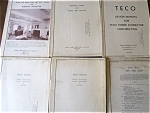 Six manuals Residential home construction  1939 - 1946