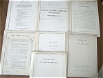 7 residential building handbooks - 1937 to 1939