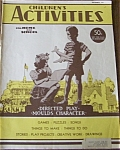 Click here to enlarge image and see more about item J4060: Children's Activities - Sept. 1950 TOYS - DOLL AD VTG