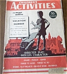 Children's Activities  June 1949
