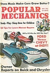 Click here to enlarge image and see more about item J4141: Popular Mechanics - May 1963