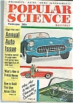 Click here to enlarge image and see more about item J4151: Popu.lar Science Mag. - February 1956