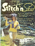 Click here to enlarge image and see more about item J4299: Stitch n Sew - October 1974