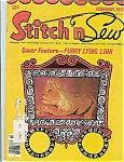 Click here to enlarge image and see more about item J4300: Stitch n Sew -February 1978
