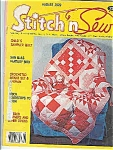 Click here to enlarge image and see more about item J4302: Stitch n Sew - August 1979