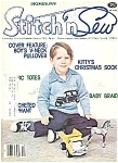Click here to enlarge image and see more about item J4303: stitch n Sew -Decedmber 1979