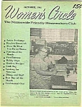Click here to enlarge image and see more about item J4314: Women's Circle - October 1961