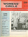 Click here to enlarge image and see more about item J4315: Women's Circle magazine - February 1965