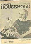 Click here to enlarge image and see more about item J4338: Women's Household magazine - September 1963