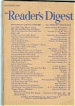 Click here to enlarge image and see more about item J4396: Reader's Digest - October 1947