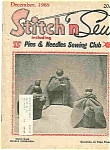 Click here to enlarge image and see more about item J4403: Stitch n Sew - December 1968