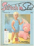 Click here to enlarge image and see more about item J4406: Stitch n Sew magazine - July/August 1969