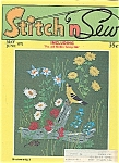 Stitch n Sew Magazine - May/June 1971