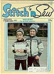 Stitch n Sew magazine - Jan./ Feb. 1972