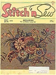 Stitch n sew Magazine - May/June 1972