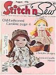 Stitch n Sew = August 1976