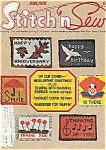 Stitch n Sew - June 1978