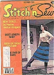 Stitch n sew magazine - October 1979