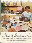 Click here to enlarge image and see more about item J4485: Maid of Scandinavia Co. catalog 1967