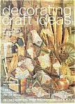 Click here to enlarge image and see more about item J4487: Decorating craft ideas - October 1975