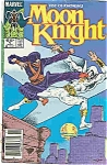 MOON KNIGHT  COMIC - Marvel comics - # 5   Nov 85