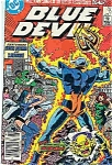 Blue Devil comics - DC comics - # 13  June 1985