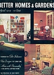 Better Homes & Gardens magazine -  April 1939