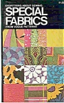 Click here to enlarge image and see more about item J4600: SPECIAL FABRICS  from Vogue Patterns   copyright 1972
