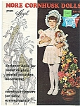 Click to view larger image of ;More Cornhusk Dolls& & Decorations with plastic canvas (Image1)