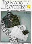 Click here to enlarge image and see more about item J4729: The Macrame Pursemaker - by Rose Brinkley