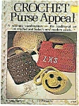 Click here to enlarge image and see more about item J4741: Crochet Purse Appeal by Linda Harrison