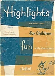 Click here to enlarge image and see more about item J4744: Highlights for children books - 4 total