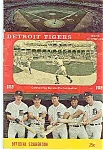 Detroit Tigers-world champions 1969 official scorebook