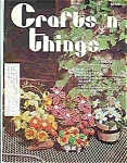 Click here to enlarge image and see more about item J4783: Crafts n things - August Sept  1975 Magazine