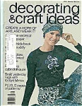 Click here to enlarge image and see more about item J4784: Decorating & craft ideas - #01066 Sept. 1976 Magazine