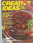 Click here to enlarge image and see more about item J4792: Creative Ideas  for living - Nov. 1987