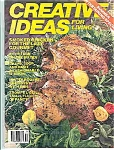 Click here to enlarge image and see more about item J4793: Creative Ideas for living - June 1987